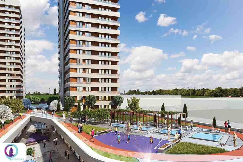 پروژه مسکونی میراژ استانبول