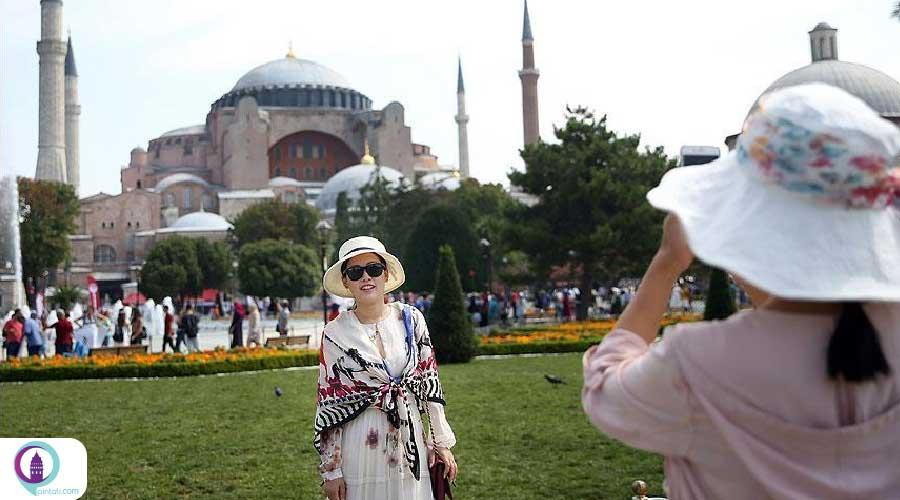 گردشگران آلمانی در ترکیه