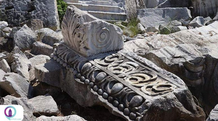 کشف آثاری تاریخی در شهر باستانی «کیزیکوس» ترکیه