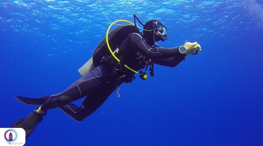 مرکزی برای علاقمندان به غواصی،شبه جزیره کارابورون ازمیر