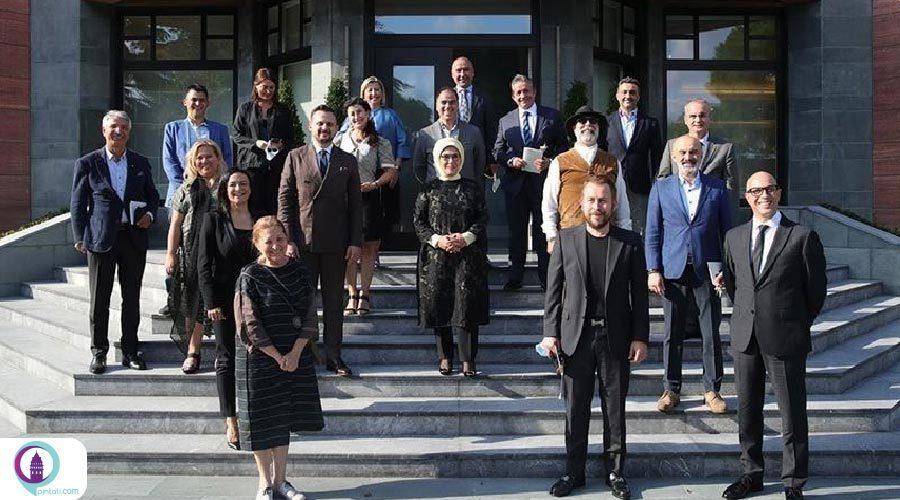 سفره ترک با حمایت امینه اردوغان به دنیا معرفی میشود