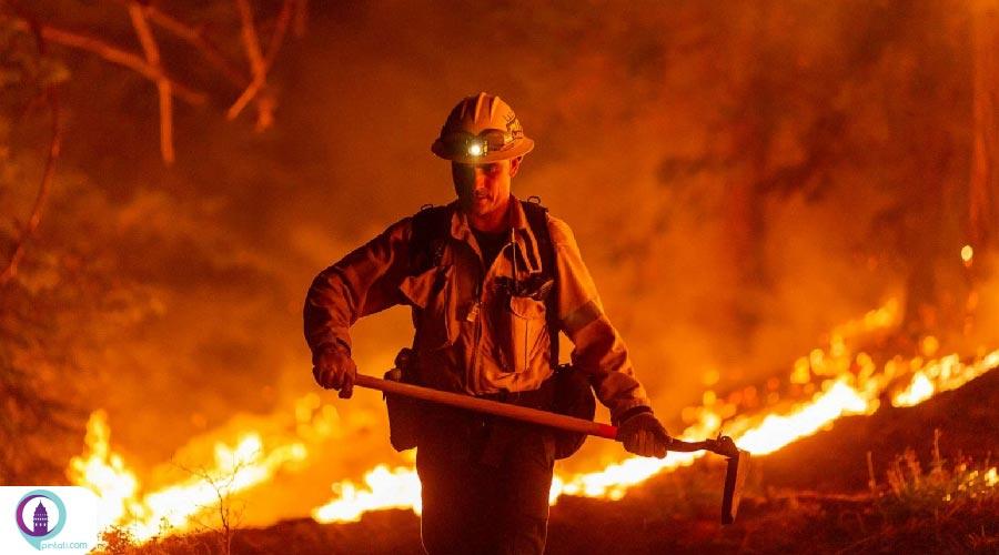 آتشسوزی در ترکیه
