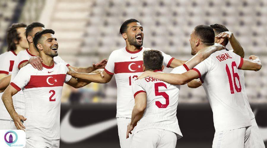 تساوی تیمهای ملی فوتبال ترکیه و روسیه در لیگ ملتهای اروپا