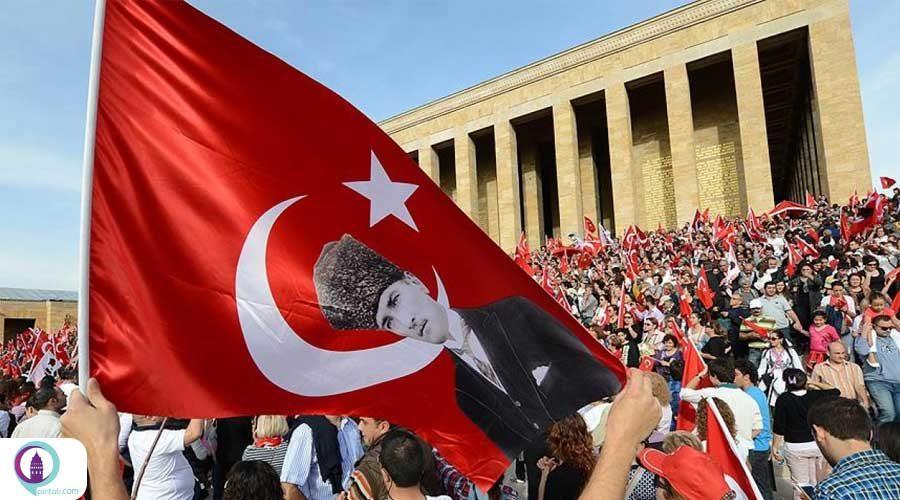 نود و هفتمین سالگرد عید جمهوریت ترکیه