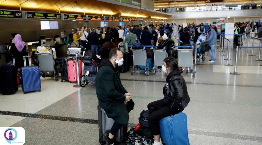 نظارت بر رعایت پروتکلهای بهداشتی کرونا در فرودگاه استانبول