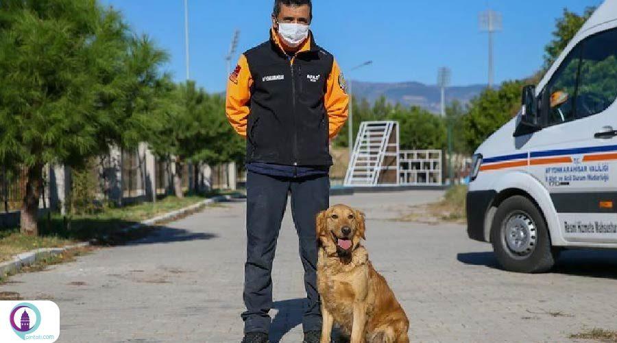 سگهای نجات؛ قهرمانان بینام و نشان عملیات امداد و نجات زلزله ازمیر