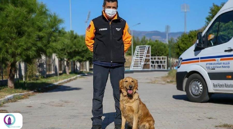 سگ های نجات ترکیه