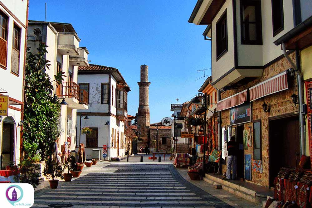 فاصله استانبول تا آنتالیا