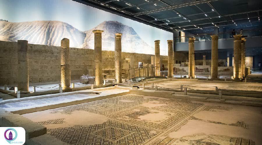 آثار موزاییکی باستانی در سینوپ ترکیه به نمایش گذاشته شد