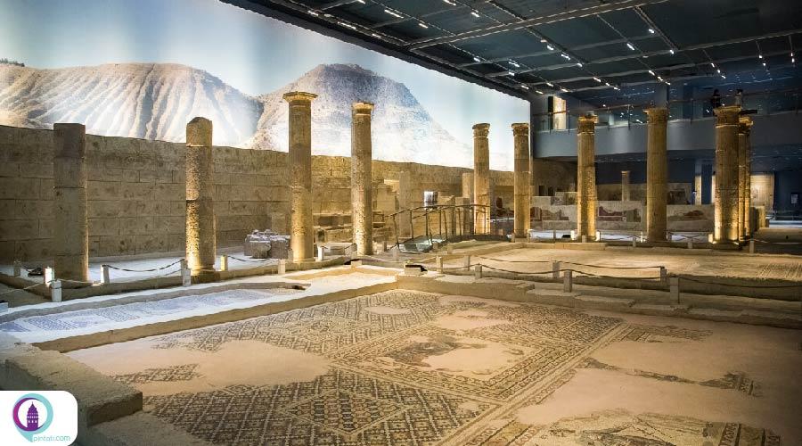 آثار موزاییکی باستانی