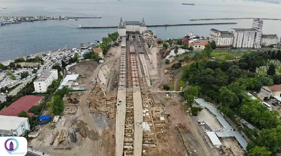 کشفی تاریخی در محوطه ایستگاه قطار استانبول