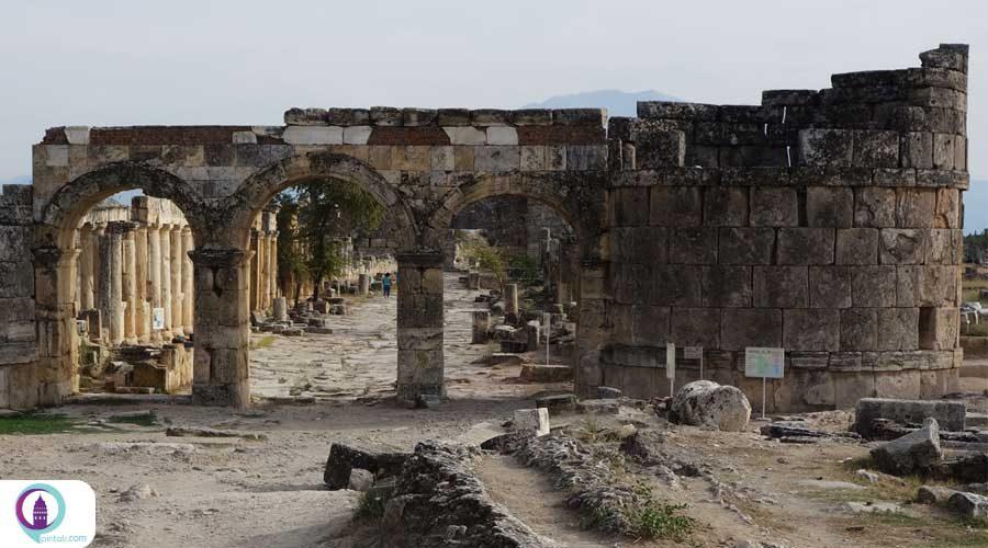 شگفتیهای شهر باستانی «پروسیاس اد هیپیوم» ترکیه