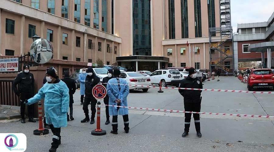 آتشسوزی در بیمارستان غازیعنتب؛ مرگ 8 بیمار