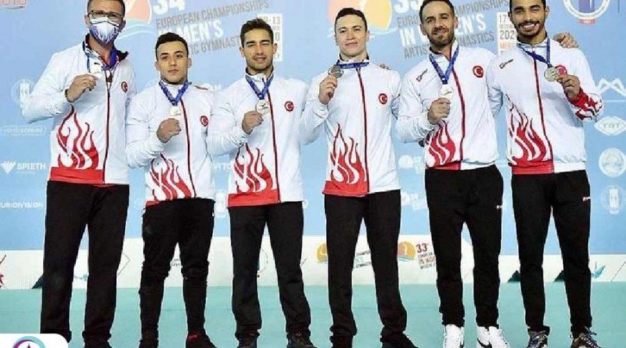 موفقیت تیم ملی ترکیه در مسابقات ژیمناستیک هنری مردان اروپا