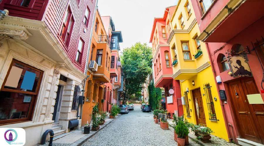محله کوزگونجوک استانبول جایی برای قرارهای عاشقانه