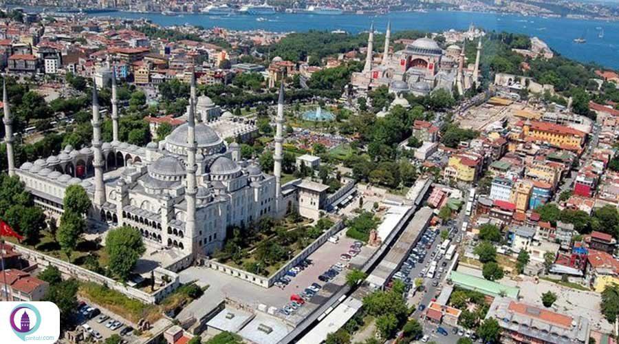 استانبول و اقامت کوتاه مدت در این شهر