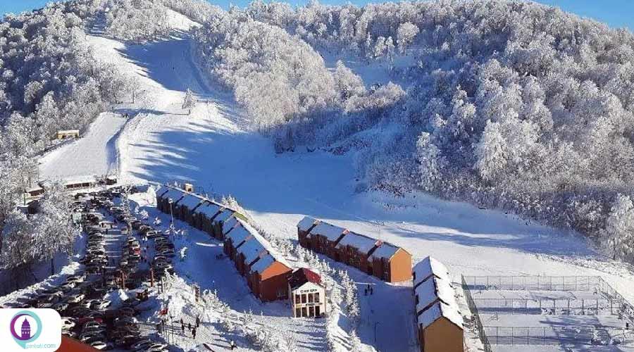 پیست اسکی کارتپه در کجائلی استانبول