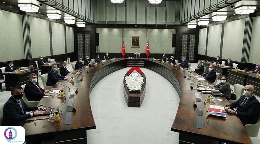 جلسه کابینه دولت ترکیه درباره محدودیتهای کرونا
