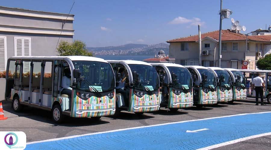 جایگزینی درشکه با ماشین برقی در جزیرههای استانبول