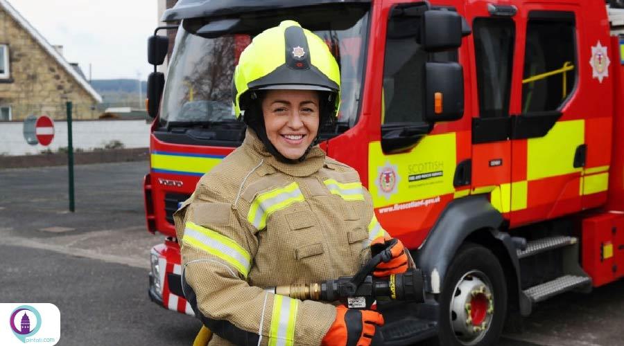 پذیرش نیروی جدید آتشنشانی در استانبول