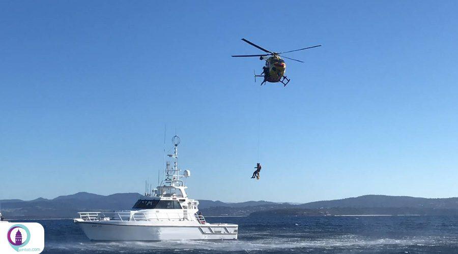 عملیات گسترده تیمهای امداد ترکیه برای نجات سرنشینان کشتی روسی