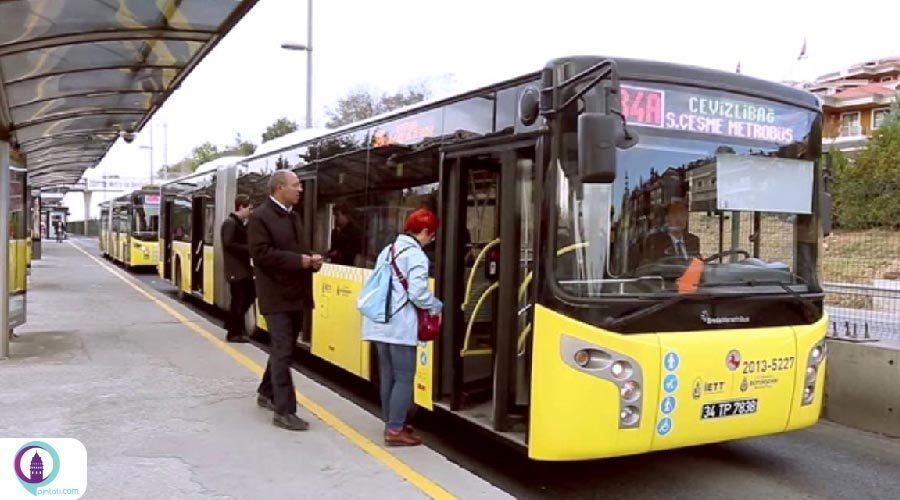 سیستم جدید متروبوسهای استانبول