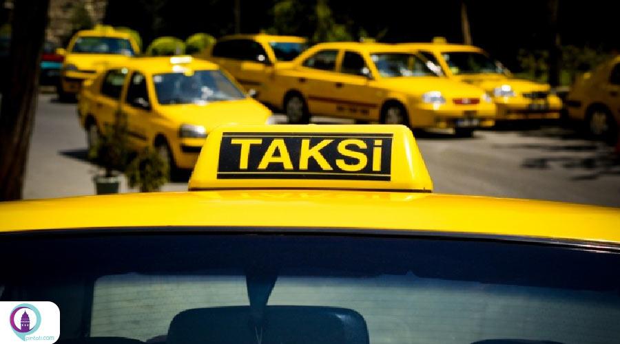 اصطلاحات تاکسی در زبان ترکی