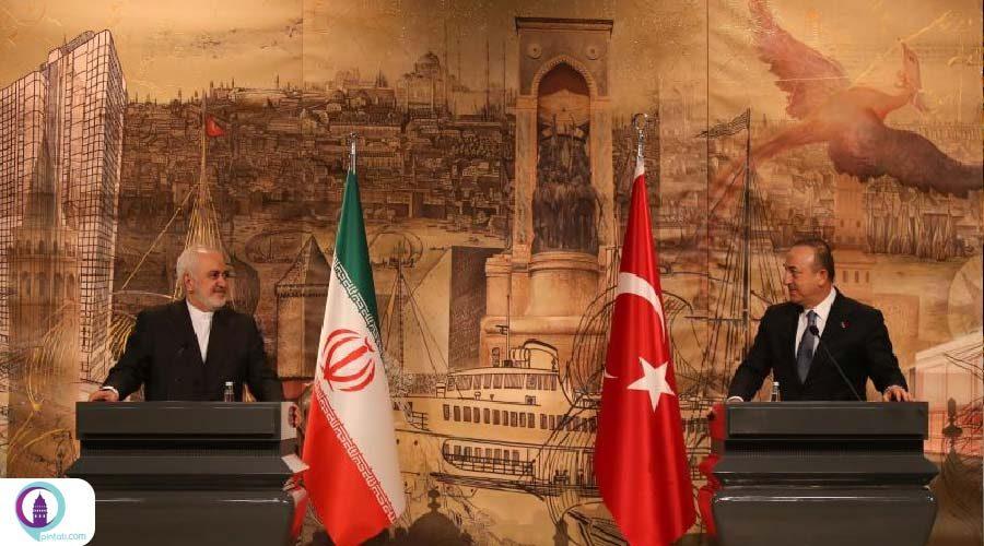 دیدار محمد جواد ظریف با همتای ترکیهای خود در استانبول