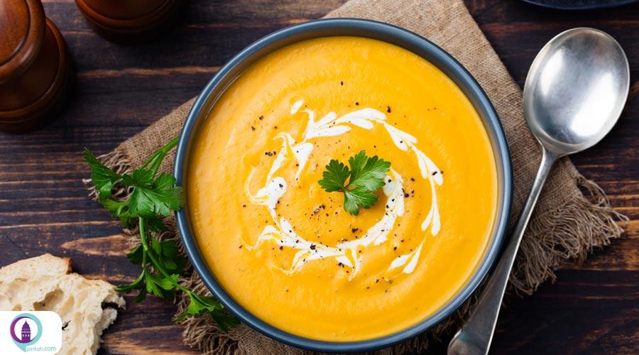 سوپ کدو تنبل