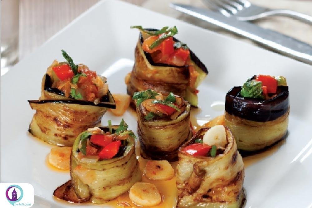 کوفته بادمجان غذای ترکی