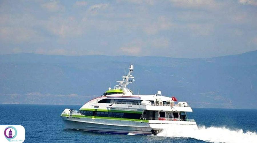 سفر دریایی در استانبول