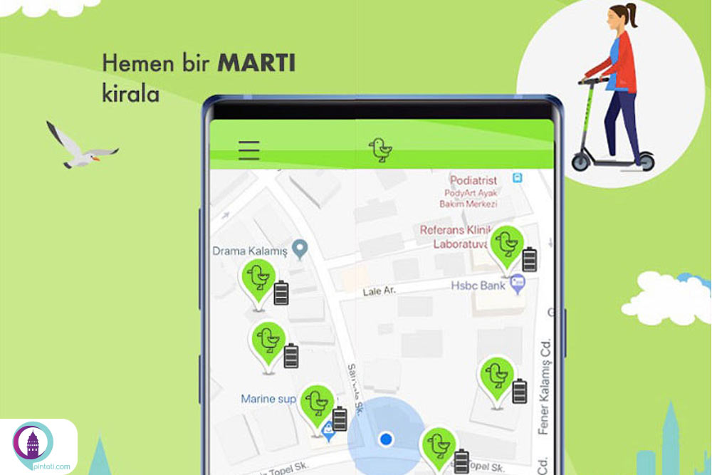 اپلیکیشن کاربردی marti