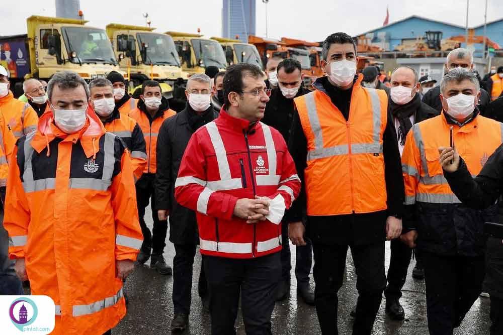 شهرداری استانبول در وضعیت آماده باش