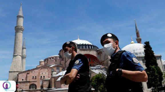 منع رفت و آمد در ترکیه