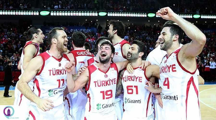 صعود تیم ملی مردان ترکیه به فینال جام جهانی بسکتبال اروپا
