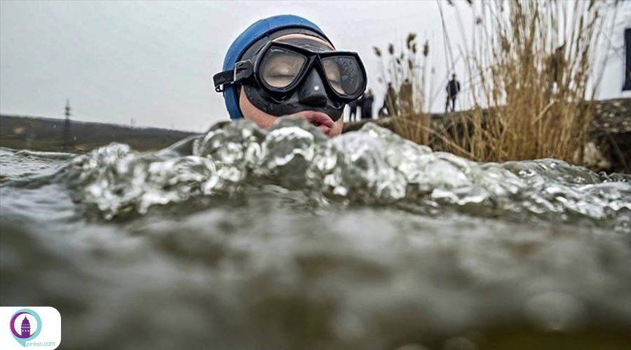 غواصی شاهقه ارجمن به مناسبت روز جهانی آب