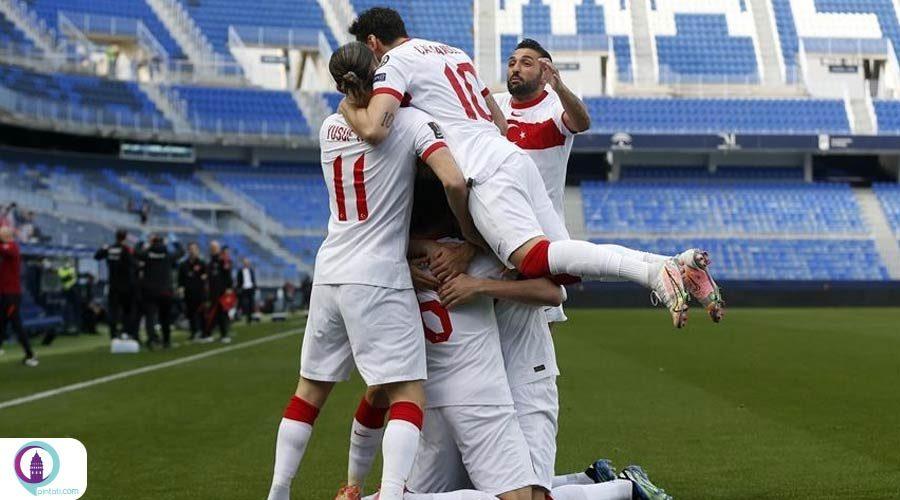 برتری تیم ملی فوتبال ترکیه بر نروژ