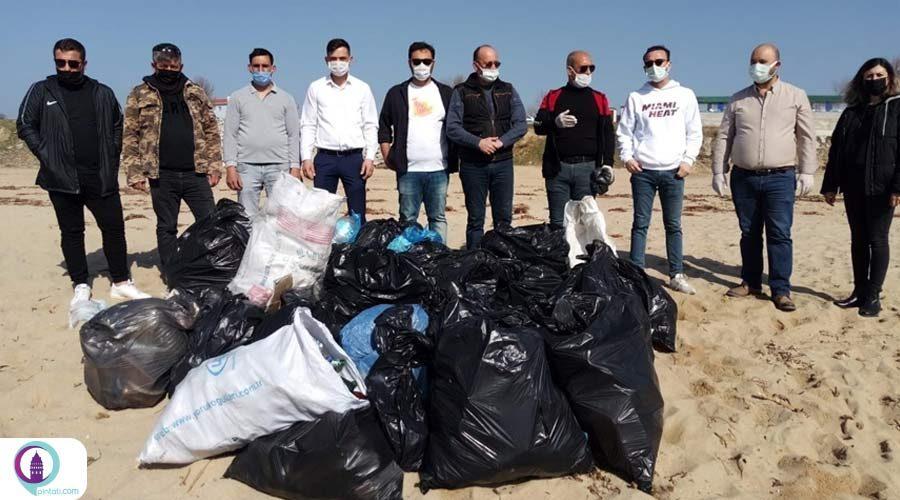 جمعآوری زباله توسط دوستداران طبیعت در ترکیه و یونان