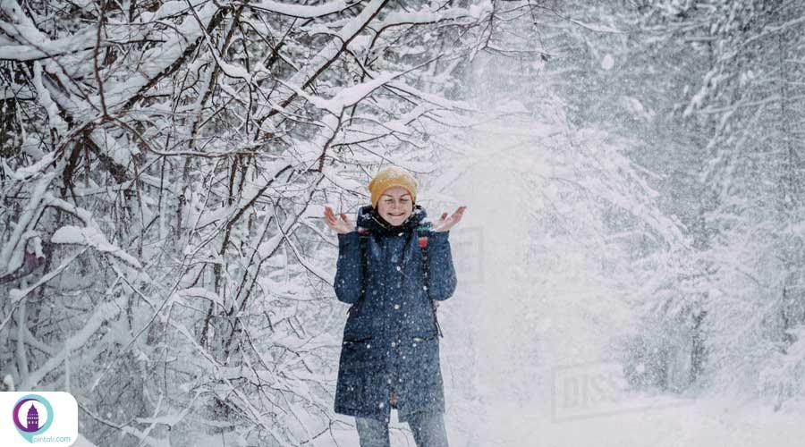 بارش برف در استانبول