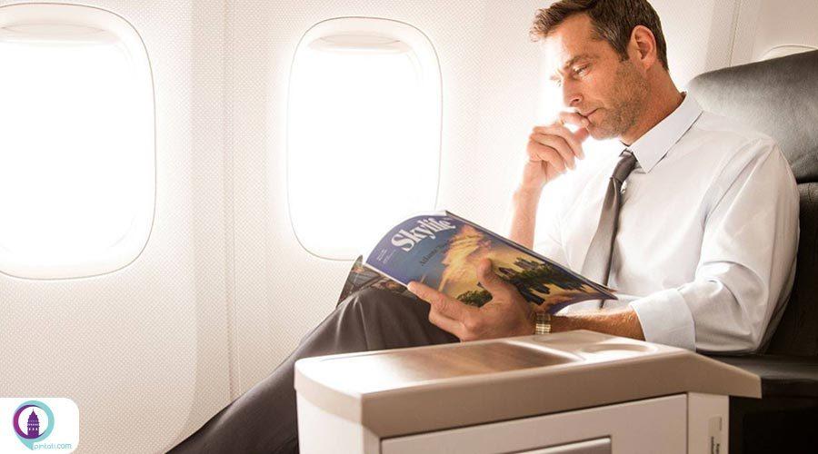 ارائه آنلاین مجلات و روزنامههای جهان به مسافران ترکیش ایرلاینز