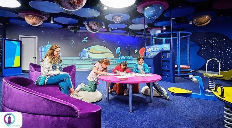 امکان بازی و تفریح برای کودکان در فرودگاه استانبول