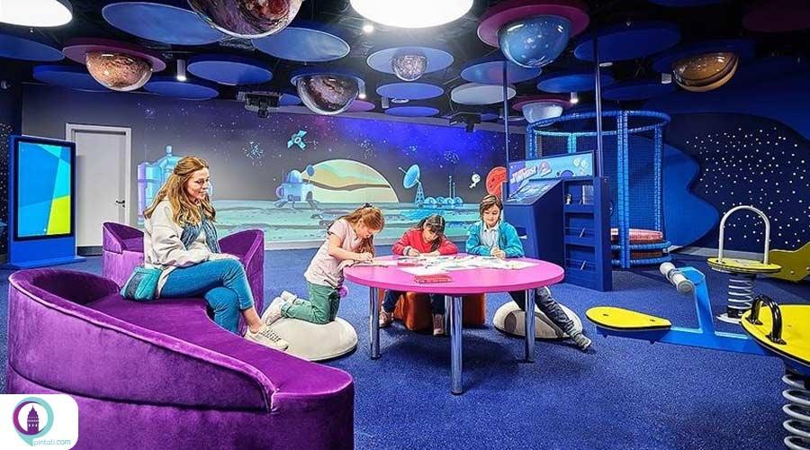 بازی و تفریح برای کودکان در فرودگاه استانبول