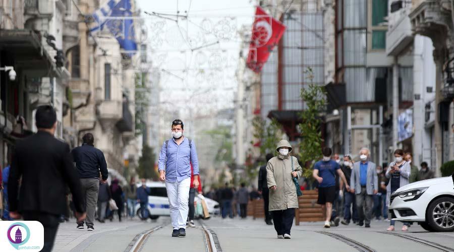 محدودیت تردد در ترکیه