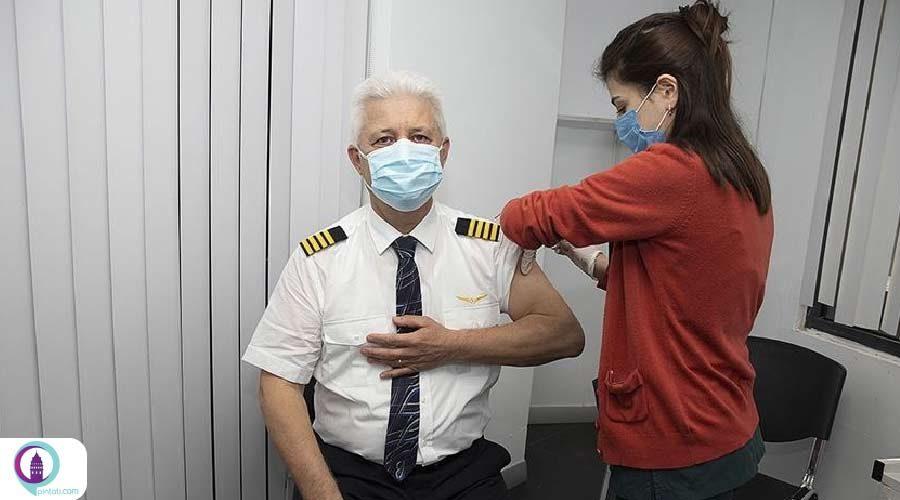 آغاز روند واکسیناسیون کرونا برای خدمه پرواز ترکیش ایرلاینز