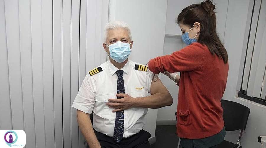 واکسیناسیون خدمه پرواز ترکیش ایرلاینز