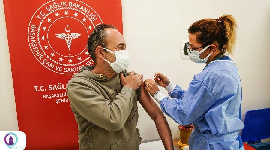 ترکیه، ششمین جایگاه جهان در تزریق واکسن کرونا