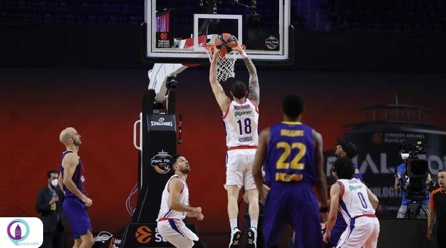 آنادولو افس ترکیه قهرمان بسکتبال اروپا شد