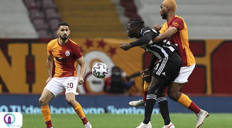 دربی تیم های گالاتاسارای و بشیکتاش در استانبول