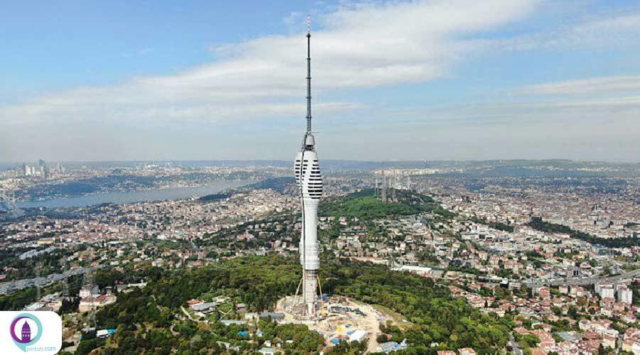برج چاملیجا نماد جدید استانبول 29 می افتتاح میشود