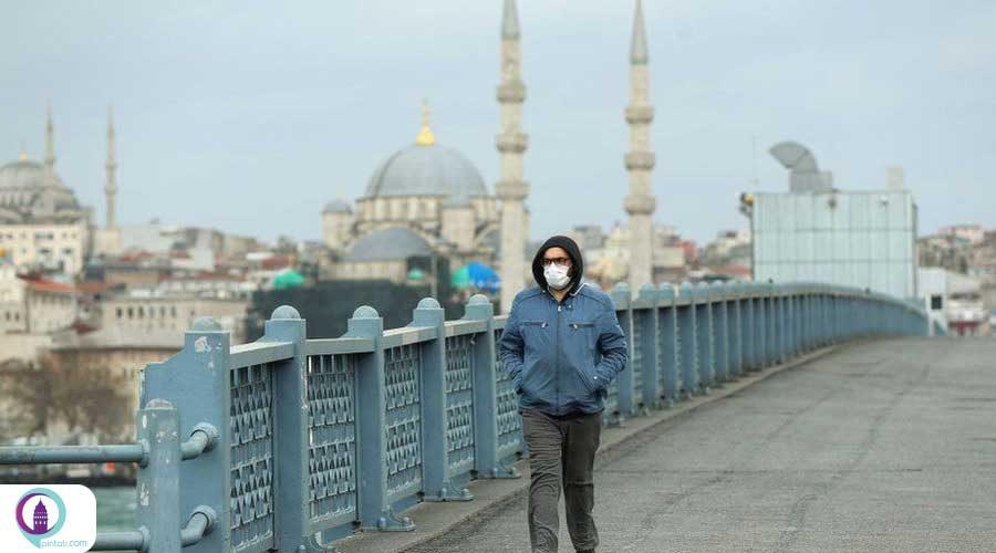 کاهش آمار ابتلای روزانه کرونا در ترکیه